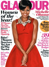 Michelle Glamour Cover