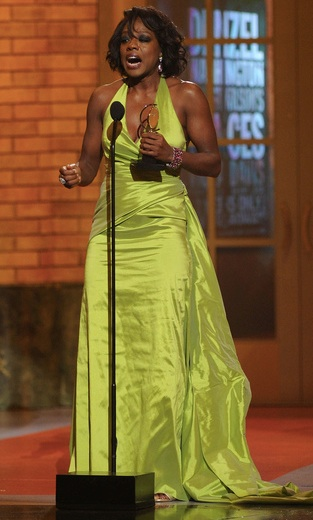 Congratulations, Viola! Tony Award for Best Leading Actress - Fences