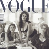 Vogue Italia Cover, Curvy Issue; Belle Curve