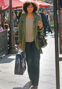 Tracee Ellis Ross Shops in LA
