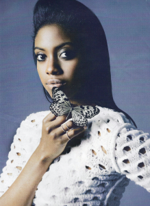 Actress Condola Rashad For InStyle, March 2012