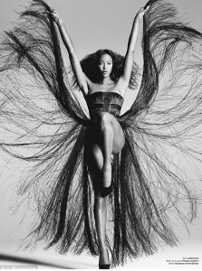 Naomi Campbell As Tina Turner for V Magazine
