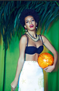 Solange Goes Retro For London Evening Standard