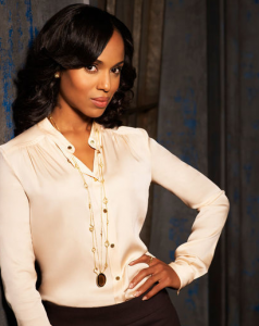 Kerry Washington is Olivia Pope, Scandal