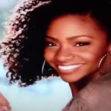 Teyonah Parris McDonalds Commercial Twist Out 3
