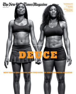 Venus and Serena Williams Cover NYT Magazine (8/12)