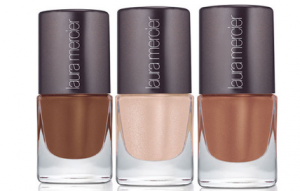 Laura Mercier's Limited Edition Cinema Noir in Cocoa Suede,Organza, Nude Silk