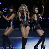 Beyonce & Destiny's Child Strikes A Pose; Super Bowl Half-Time Show