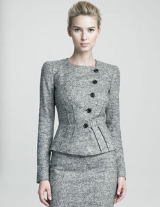 Armani Buttoned Gray Jacket